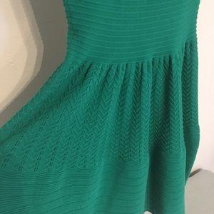 Sandro Dresses - Sandro green knit dress 1 S/M